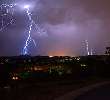 Lightning Storm by Diana Graves Photography
