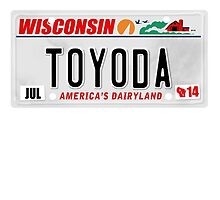 License Plate - Toyoda by TswizzleEG