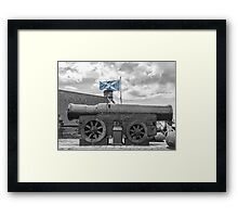 Mons Meg - Edinburgh Castle - Scotland Framed Print