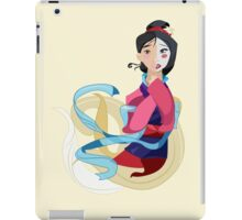 Mulan: Reflection iPad Case/Skin