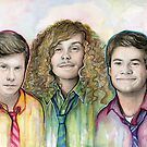 Workaholics Art: Anders, Blake, Adam by OlechkaDesign