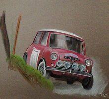Mini Cooper Rally Car by BigKevG
