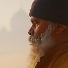 Meditation At The Taj by Clive S