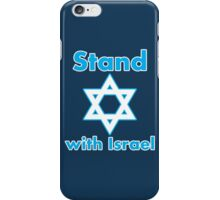 Stand with Israel iPhone Case/Skin