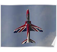 RAF Union Jack Hawk Poster
