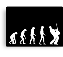 Evolved to Rock Canvas Print