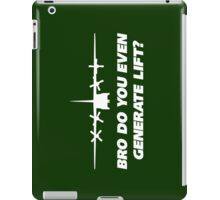 Bro Do You Even Generate Lift iPad Case/Skin