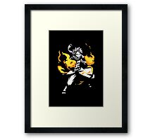 Fire Dragon Slayer Framed Print