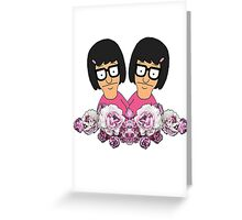 Flower Tina Greeting Card