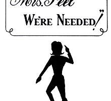 Mrs Peel - We're Needed 2 by peacockpete