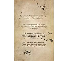 Moony Wormtail Padfoot and Prongs Photographic Print