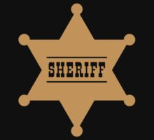 Sheriff's Star Kids Clothes