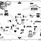 The Infographic Map of Shakespeare's The Tempest by mikewirth
