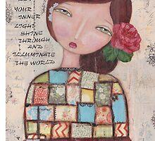 Illuminate the world by MonicaMota