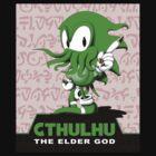 Cthulhu The Elder God by MrDeath
