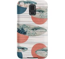 Whale and Polka Dots Samsung Galaxy Case/Skin