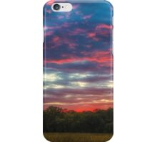 Dusk flame thrower iPhone Case/Skin