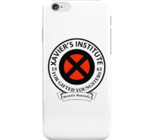 Xavier's Institute for Gifted Youngsters iPhone Case/Skin