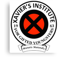 Xavier's Institute for Gifted Youngsters Canvas Print