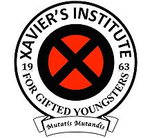 Xavier's Institute for Gifted Youngsters Photographic Print