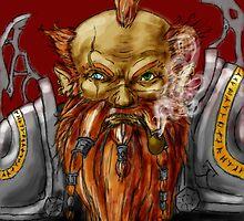 Dwarf by GabrielVanHell