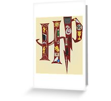 Harry Potter Collage Greeting Card