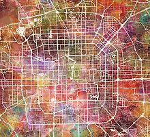 Beijing map by MapMapMaps