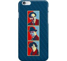 Sherlock Trilogy - X3 Red/Blue iPhone Case/Skin