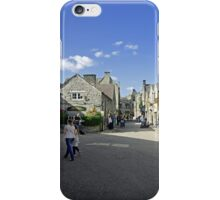 Water Street, Bakewell iPhone Case/Skin