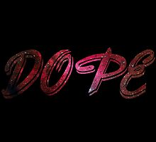 Dope Image Within Text by JKgraphics