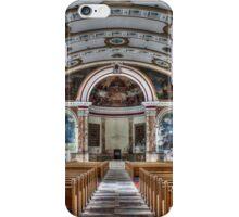 Interior Panorama, Most Blessed Sacrament, Philadelphia iPhone Case/Skin