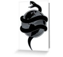 Tech N9ne - Strangeulation Snake Greeting Card