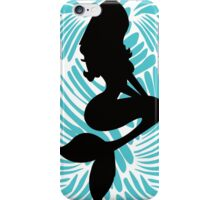 Disney Princess Ariel Fashion Silhouette iPhone Case/Skin
