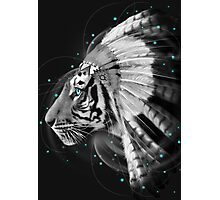 Don't Define Your World (Chief of Dreams: Tiger) Tribe Series Photographic Print