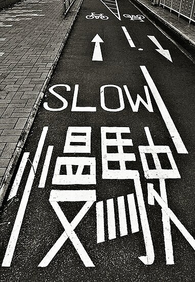 Go Slow © by Ethna Gillespie