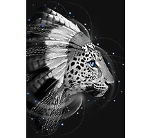Don't Define Your World (Chief of Dreams: Amur Leopard) Tribe Series Photographic Print