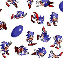 Sonic Pattern by Maya Pixelskaya
