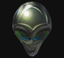 Metal Alien Head 02 by mdkgraphics