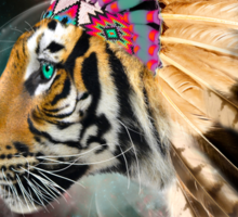 Fight For What You Love (Chief of Dreams: Tiger) Sticker