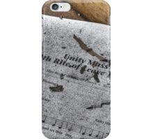 Leftover Program, Most Blessed Sacrament, Philadelphia iPhone Case/Skin