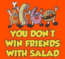 You Don't Win Friends With Salad MK2 by inesbot