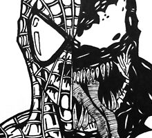 Spiderman vs Venom by MLazzaro