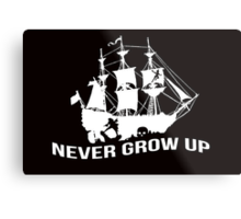 Peter Pan - Never grow up Metal Print