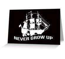 Peter Pan - Never grow up Greeting Card