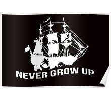 Peter Pan - Never grow up Poster