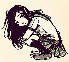 School Girl by LaintonArt