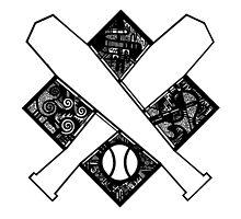 Baseball Crest by Oscar Valdez