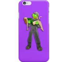 Space Frog iPhone Case/Skin