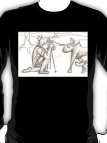 Photographer and wolves T-Shirt
