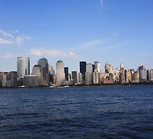 Daytime New York Skyline by Jackie Bell